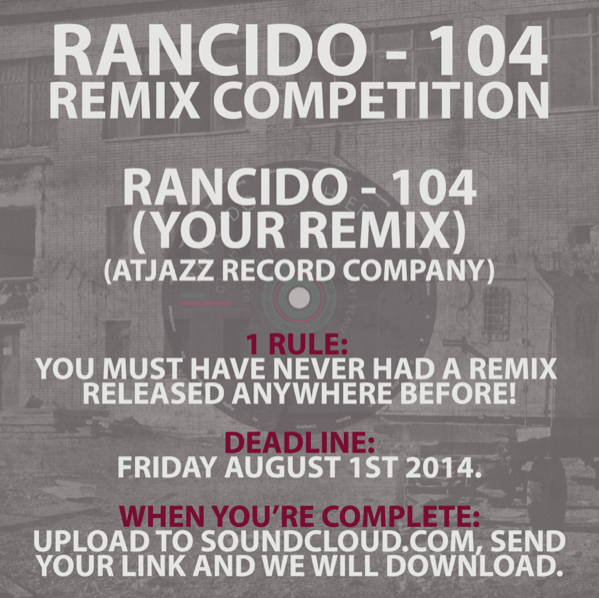 Enter the Rancido '104' remix competition here!