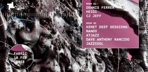 Atjazz joins the troops at Fabric London Feb 10th 2018